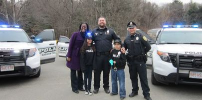 Babson College Police Department Gives Back with Big Brothers Big Sisters Day