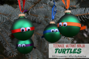 teenage mutant ninja turtles ornaments diy christmas ornaments