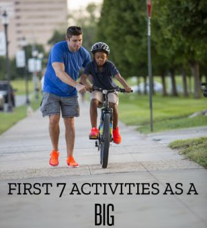First 7 Activities As a Big
