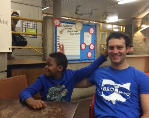 College Athletes Give Back: Emerson Basketball Mentors in Boston