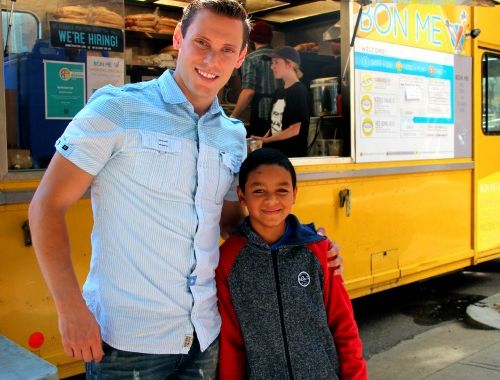Mentoring Real Life Stories: Add a Little Campaign's Jake and Brandol