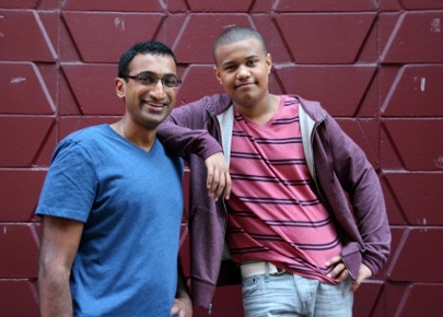 Mentoring Real Life Story: Add a Little Campaign's Navin and Cristian