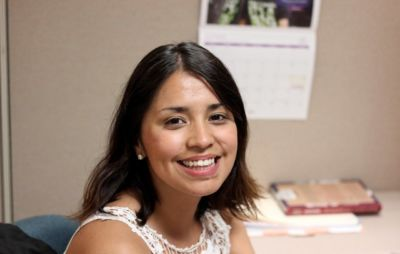 Hispanic Heritage Month Staff Feature: Itzel Delgado
