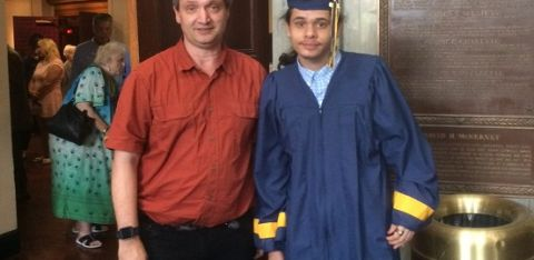 Graduation Spotlight: Meet Christian and Austin