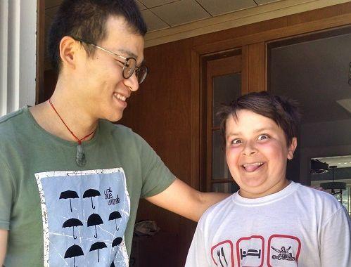 PRIDE Month: Meet Xin & Alex!