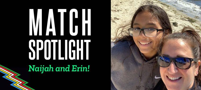 Disability Pride Month Match Spotlight – Meet Naijah and Erin!